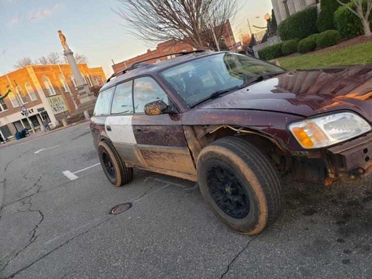 Got The Subaru Dirty